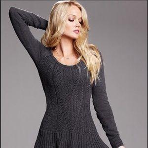Grey Victoria's Secret Sweater Dress